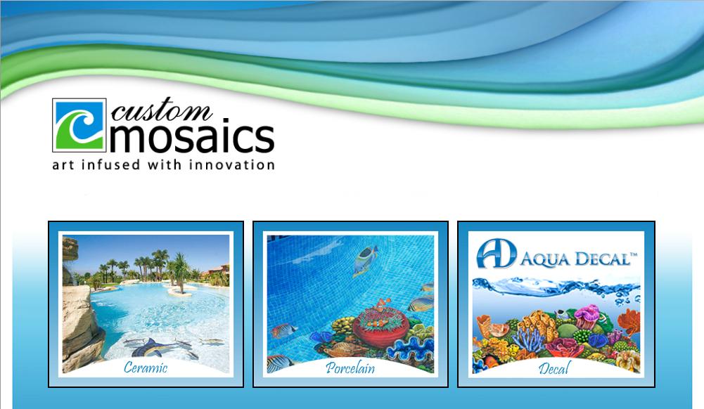 Custom Pool Mosaics Fizu